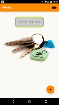 aplikace Beenode – nákup nových přívěsků