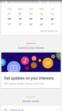 Karta Získejte aktuální informace o vašich zájmech