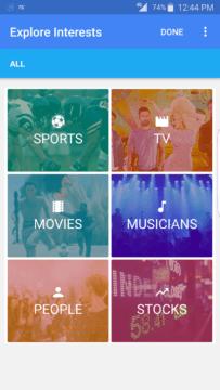 Chytré karty Google nabídnou 6 kategorií