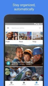 Fotky Google: automatická organizace