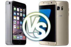 iPhone 6 Samsung Galaxy S7 soutez