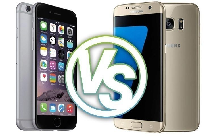 iPhone 6 Samsung Galaxy S7 soutez