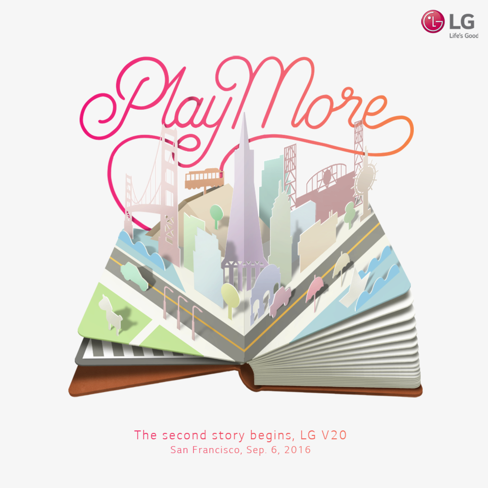 Pozvánka na představení LG V20