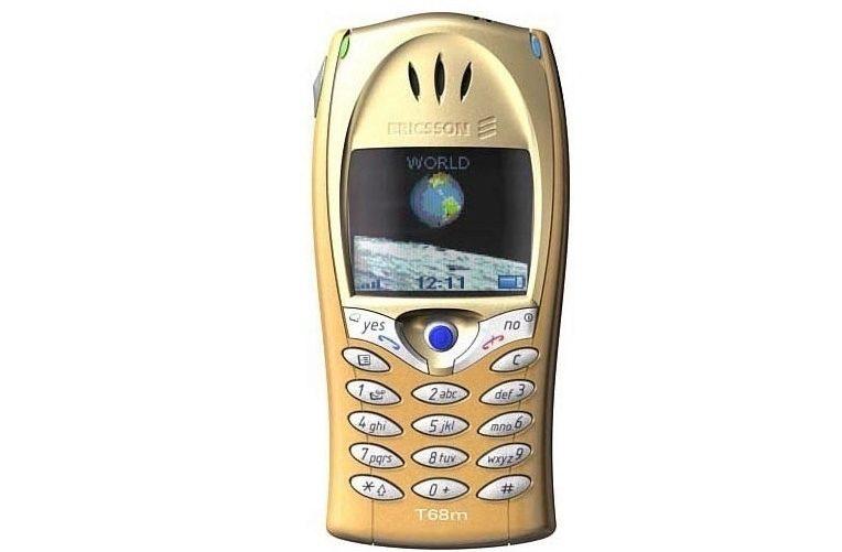 prvni telefon s barevnym displejem - Ericsson T68