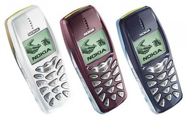 prvni telefon s barevnym displejem - Nokia 3510