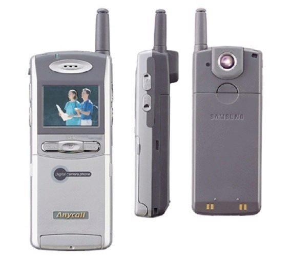 prvni telefon s fotoaparatem na svete - samsung sch-v200