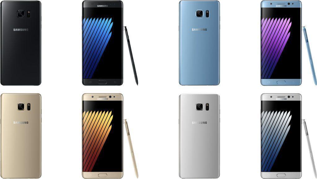 Čtyři barevné varianty nového modelu