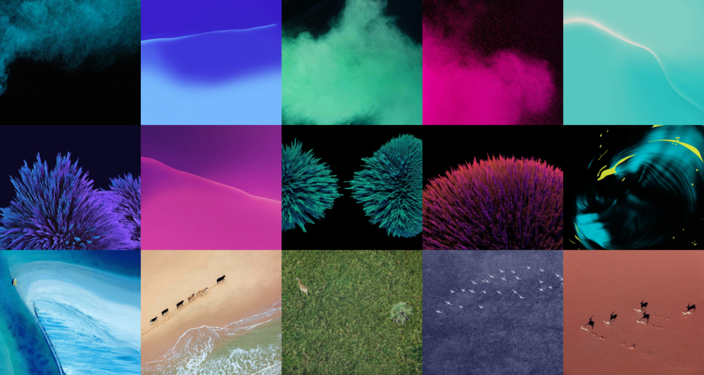 Tapety z Nexusů pro rok 2016 na jednom obrázku