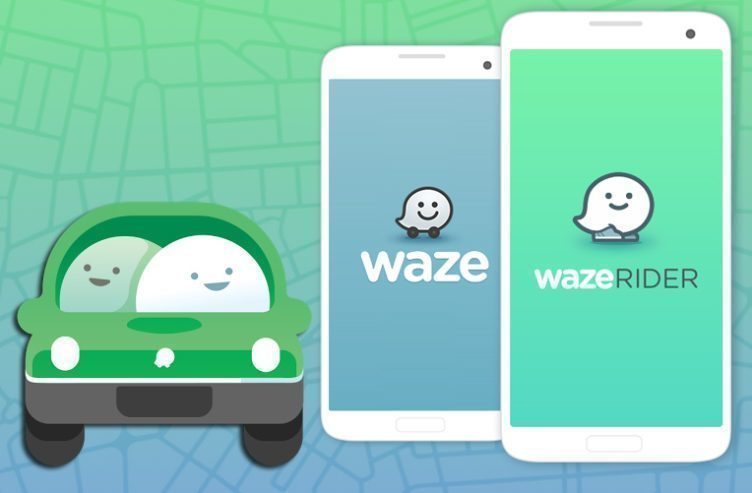 Spolujízda s Waze