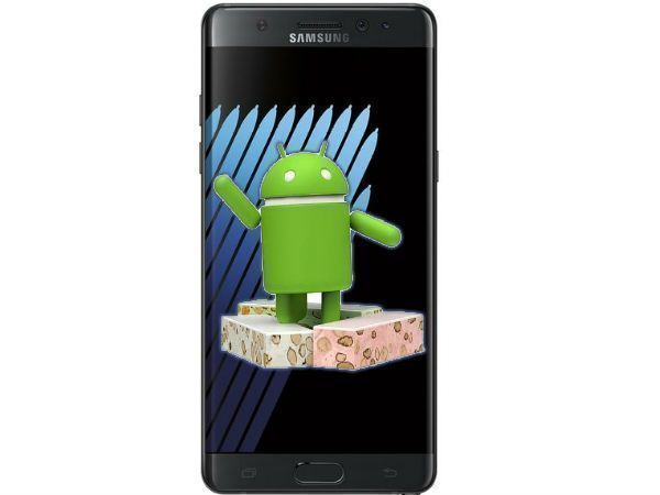 Android 7 na Samsung Galaxy Note 7