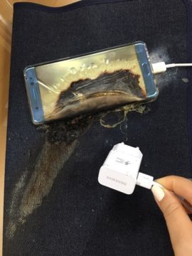 Příčina explozí je v baterii