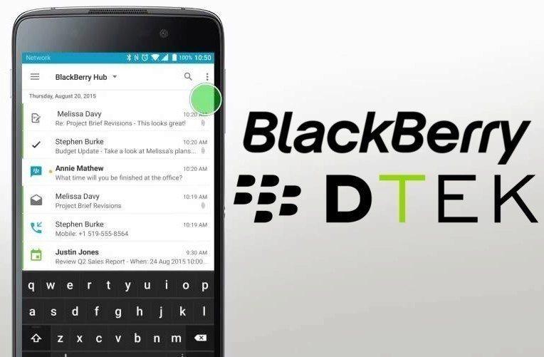 BlackBerry DTEK60?