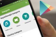 Google Play kategorie