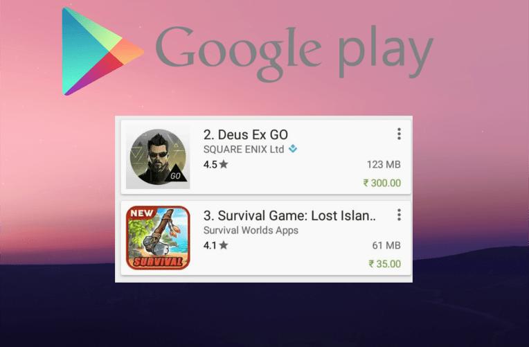Google Play obchod
