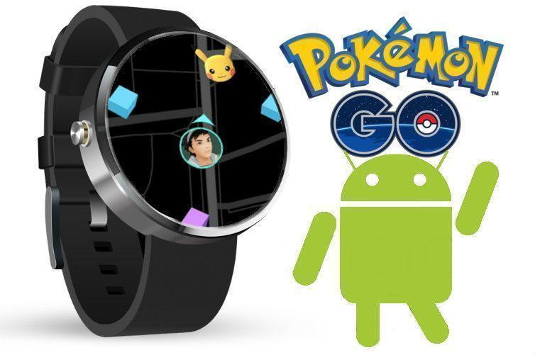 pokemon go a android wear