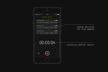 Aplikace v telefonu poskytuje řadu funkcí