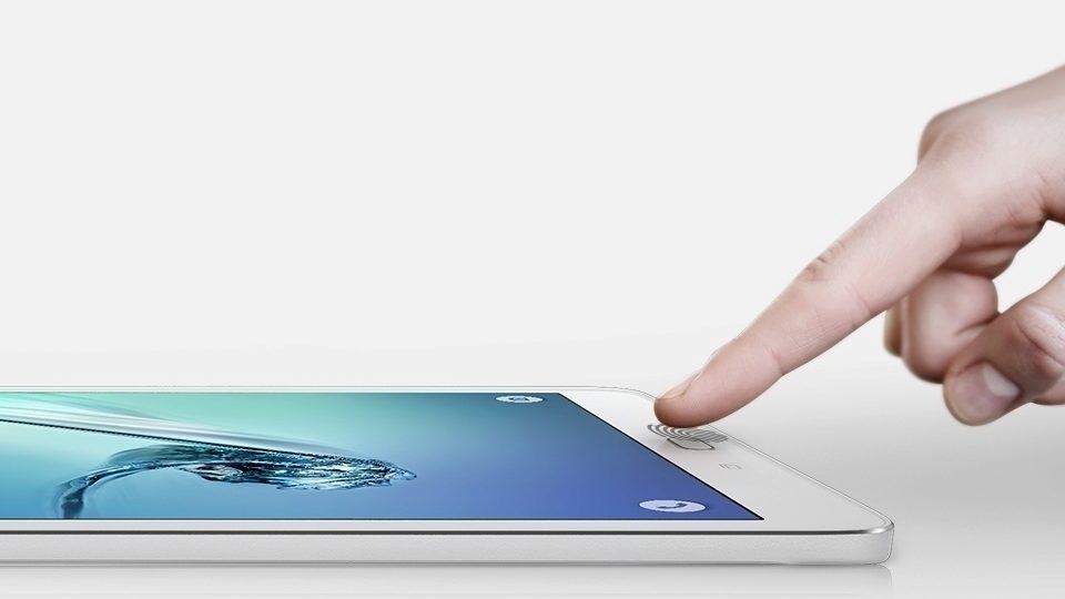 Čtečka otisků prstů v provedení Samsungu