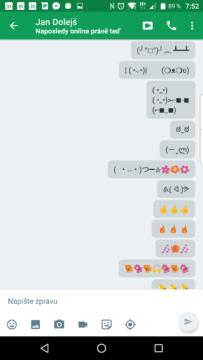 Grafické emoce z Hangouts 13