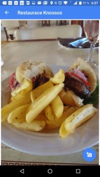 Mapy Google nabízejí fotky jídel