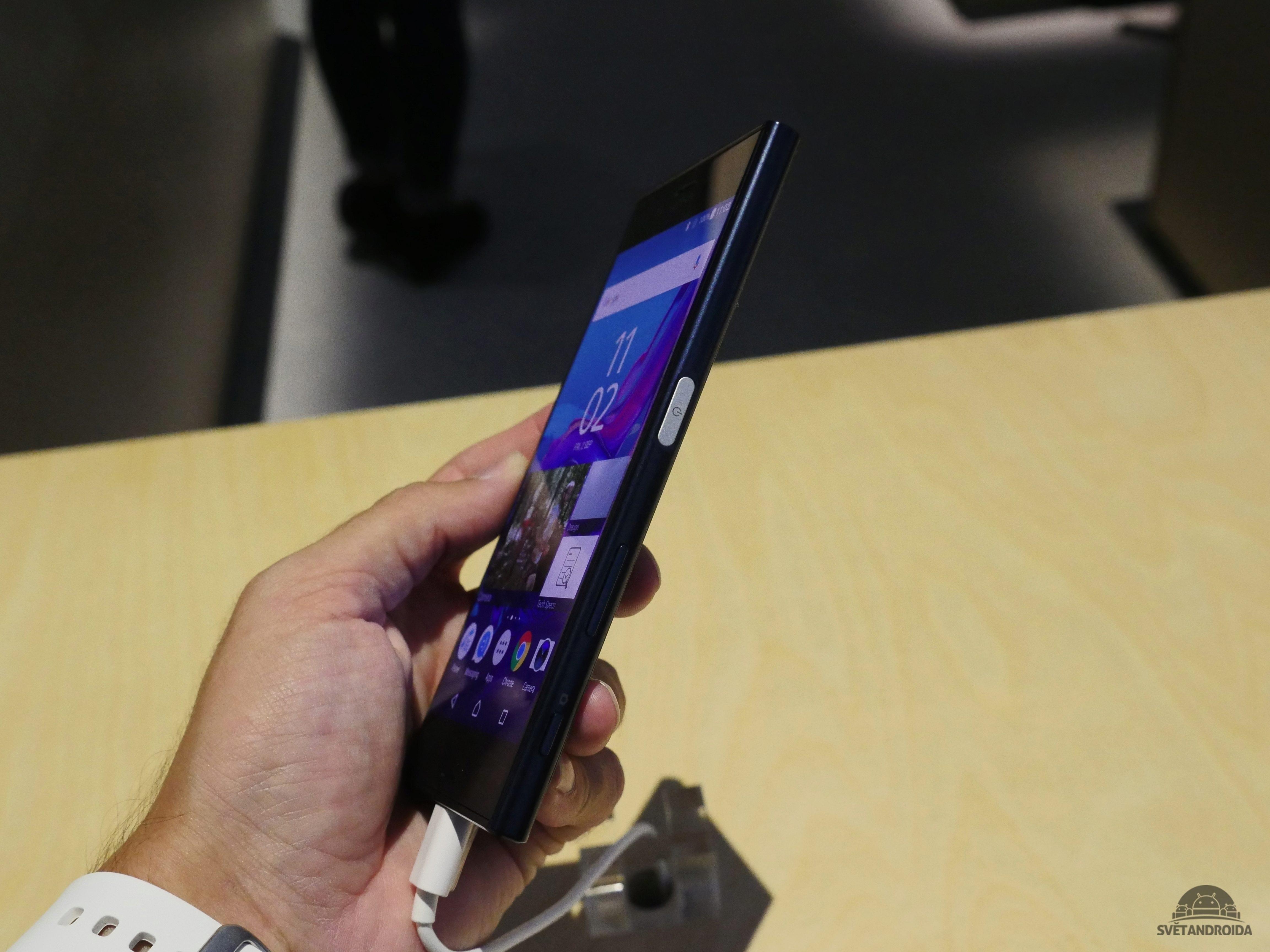 Sony Xperia XZ - z boku