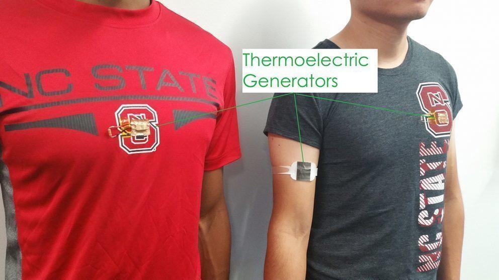 Budeme v budoucnosti nabíjet telefony teplem našeho těla?