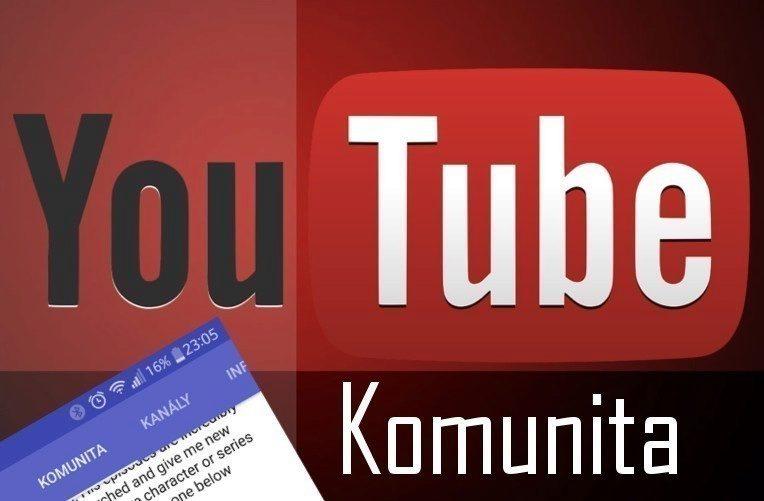 Hlavní úkoly na youtube