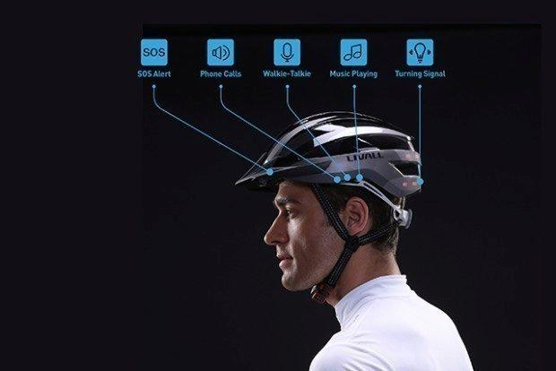 LIVALL je chytrá cyklistická přilba