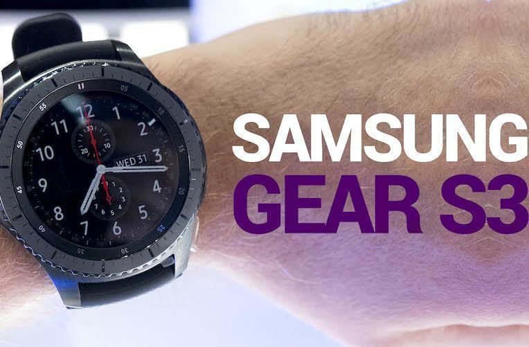 samsung gear S3 video