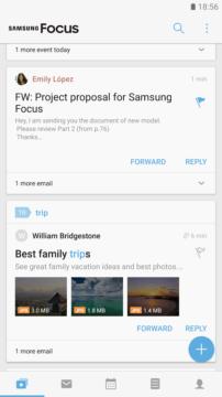 Aplikace Samsung Focus