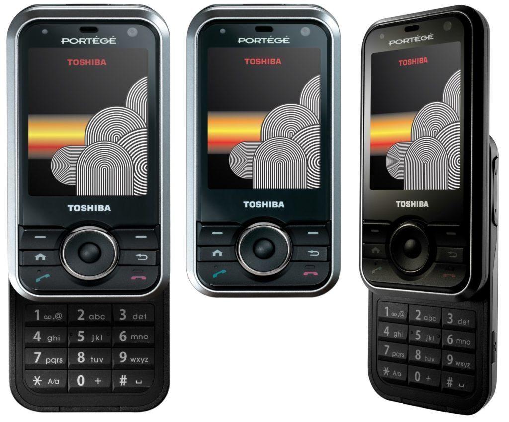 První telefon se čtečkou otisků: Toshiba Portégé G500