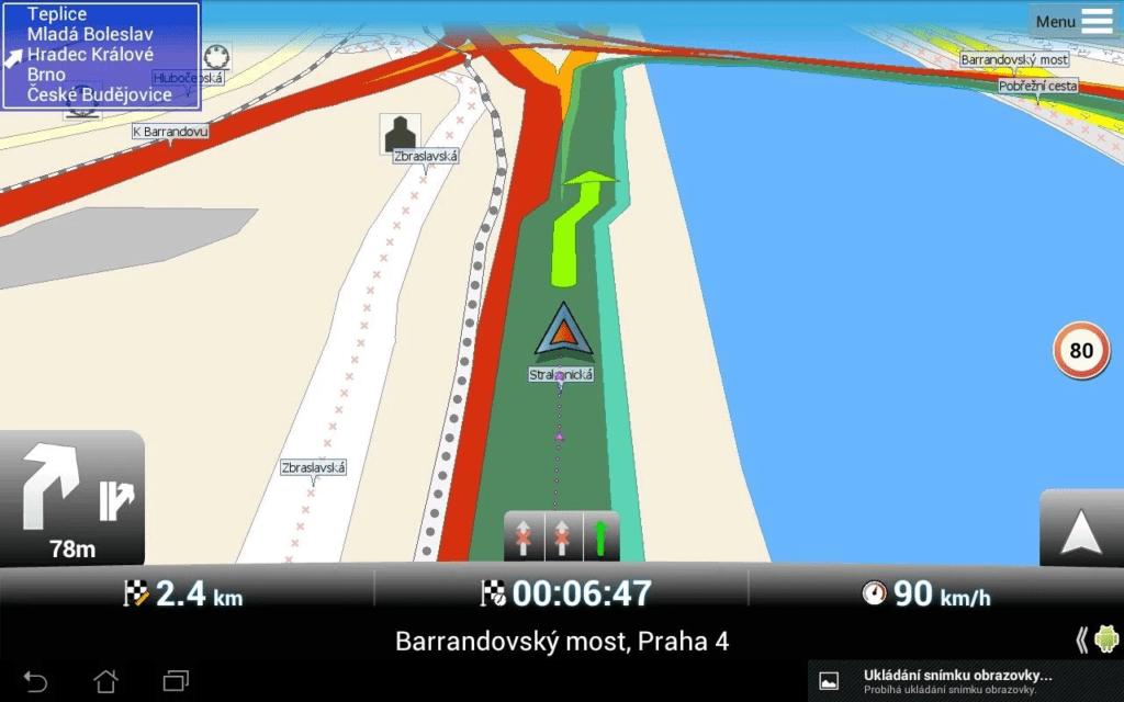 Bezplatná navigace MapFactor Navigator