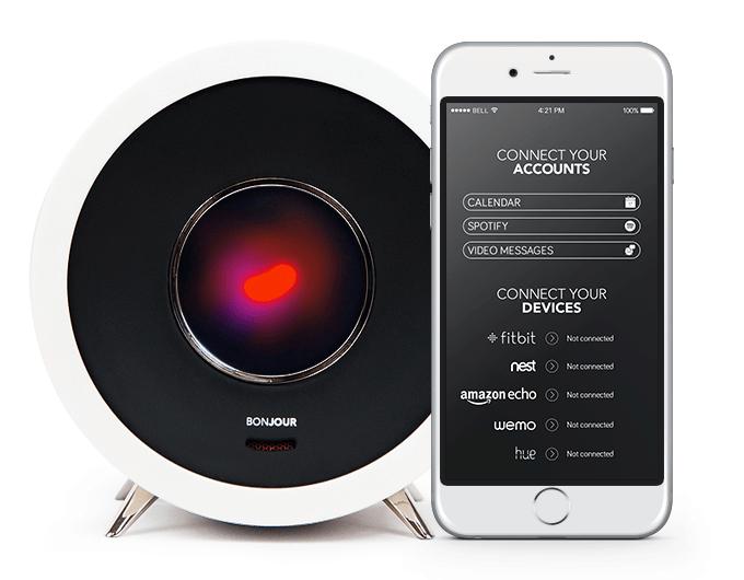 Budík komunikuje přes Bluetooth s mobilní aplikací