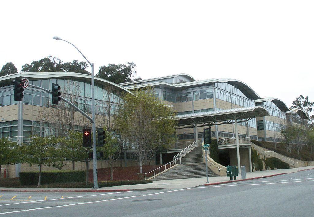 Současné sídlo Youtube v kalifornském San Brunu