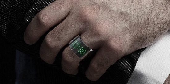 Koncept chytrého prstenu RingRevolution