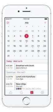 Přehledný kalendář s akcemi