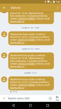 Google Messenger 2.0 - konverzace