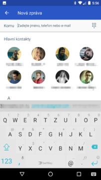 Google Messenger 2.0 - nová zpráva