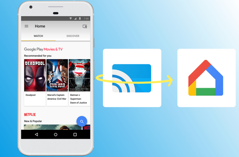 Google Cast a Home
