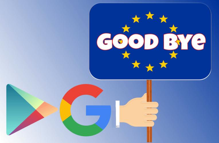 Google vyhledávač a Google Play vs EU