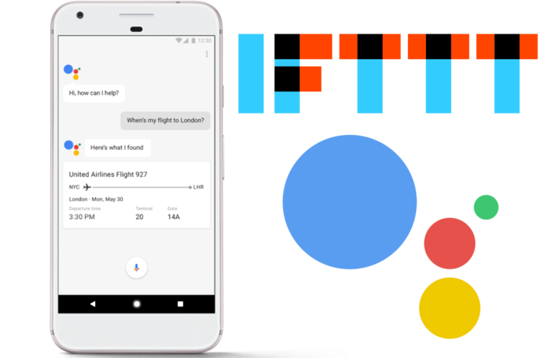 IFTTT integrace do Google Assistant