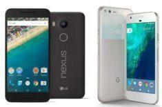 Pixel telefony a Nexus