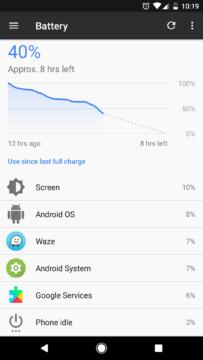 Výdrž telefonu Google Pixel