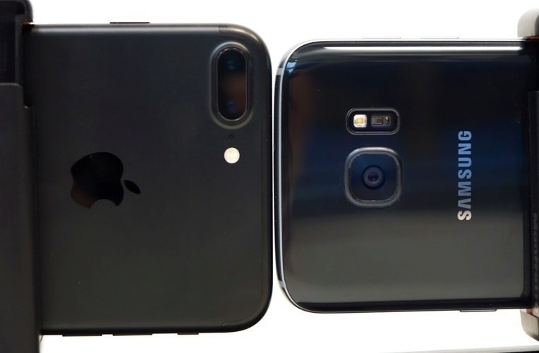 iPhone 7 Plus vs. Samsung Galaxy S7
