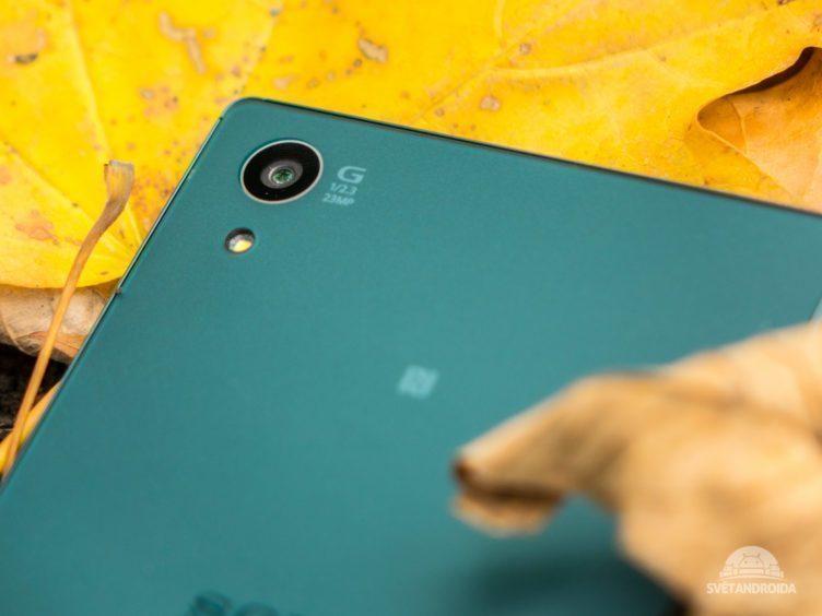 Sony Xperia Z5 - konstrukce, ostré hrany