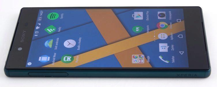 Sony Xperia Z5 - nabíjení, konstrukce