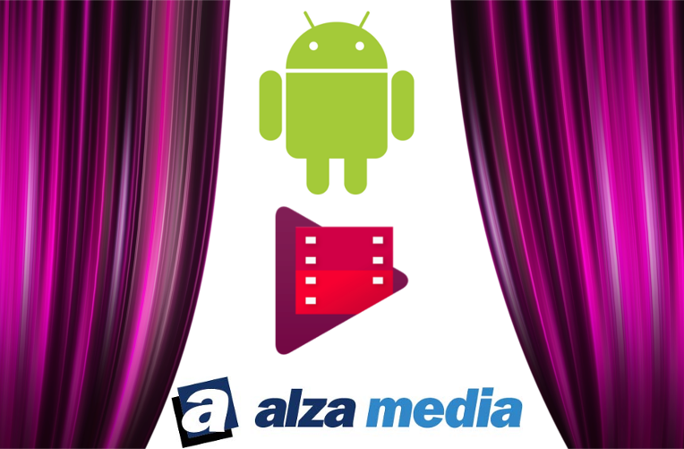 Google Play FIlmy a Alza Media