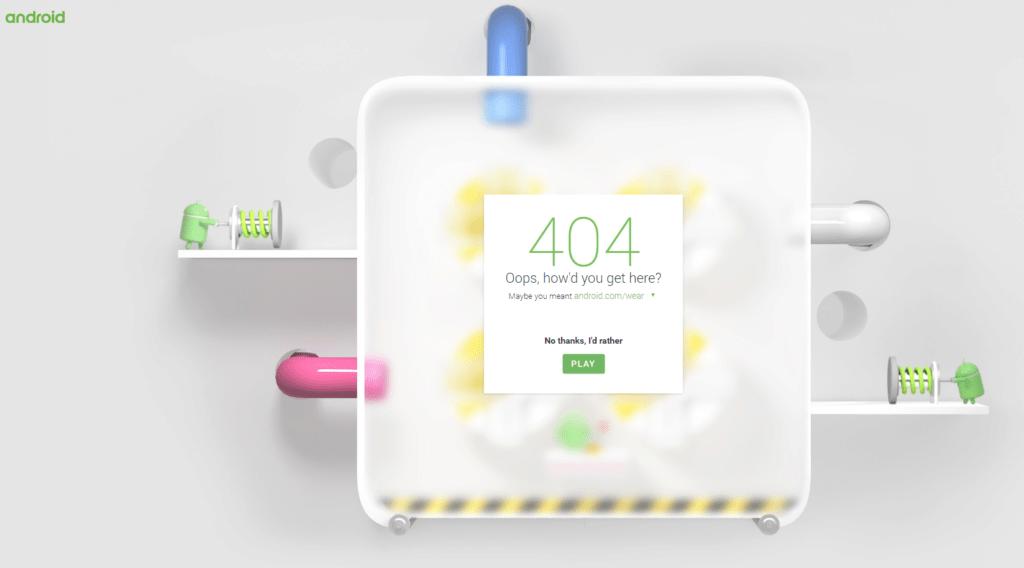 Chyba 404 zpřístupňuje hru
