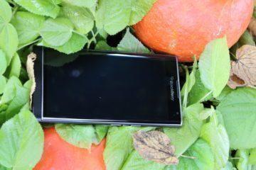 Čelní strana telefonu BlackBerry Priv