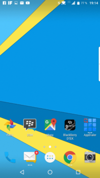 Domovská obrazovka