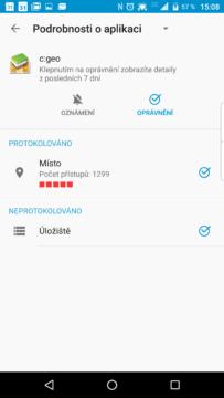 Podrobnosti o aplikaci